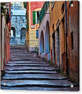 French Alley Acrylic Print