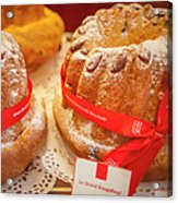 French - Alsace Pastry Acrylic Print