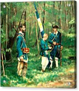 French And Indian War Acrylic Print