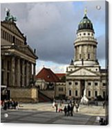 French Cathedral And Concert Hall - Berlin  Acrylic Print