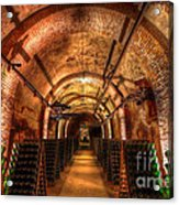 French Champagne Cellar Acrylic Print