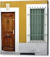 French Doorway Acrylic Print