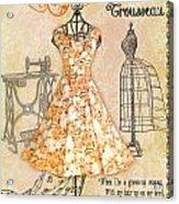 French Dress Shop-c Acrylic Print