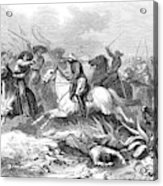 French Expedition General Mirandol Acrylic Print