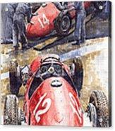 French Gp 1952 Ferrari 500 F2 Acrylic Print