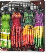 French Market Flair Acrylic Print by Brenda Bryant