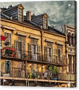 French Market View Acrylic Print by Brenda Bryant