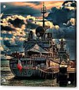 French Naval Frigate Acrylic Print
