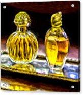 French Perfume Acrylic Print