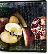 French Postcard Acrylic Print