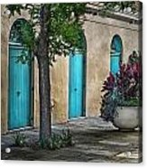 French Quarter Alley Acrylic Print