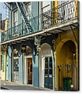 French Quarter Art And Artistry Acrylic Print