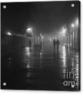 French Quarter At Night Acrylic Print