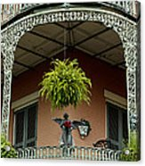 French Quarter Balcony Acrylic Print