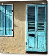 French Quarter Blues Acrylic Print
