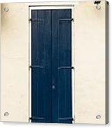 French Quarter Door - 32 Acrylic Print