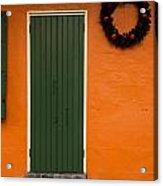 French Quarter Door - 33 Acrylic Print