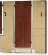 French Quarter Door - 34 Acrylic Print