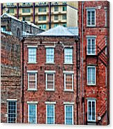 French Quarter Facades New Orleans Acrylic Print