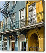 French Quarter Flair Acrylic Print