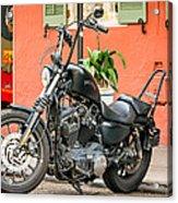 French Quarter Harley Acrylic Print
