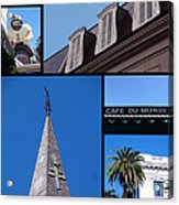 French Quarter Looking Up Acrylic Print