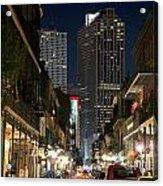 French Quarter New Orleans Louisiana Acrylic Print