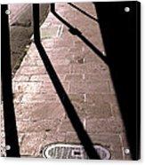 French Quarter Sidewalk Shadows New Orleans Acrylic Print