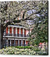 French Quarter Spring Acrylic Print