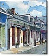 French Quarter Street 211 Acrylic Print