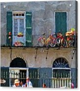 French Quarter Stroll 2 - New Orleans Acrylic Print