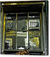 French Quarter Window Acrylic Print by Louis Maistros