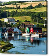 French River Acrylic Print