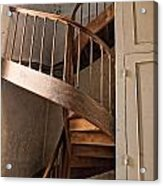 French Spiral Staircase Acrylic Print