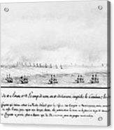 French Squadron, 1778 Acrylic Print