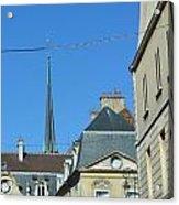 French Village Shops  Acrylic Print