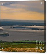 Frenchman Bay And The Porcupine Islands Acrylic Print