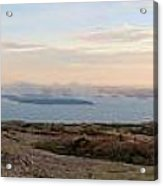 Frenchmans Bay From Cadillac Mountain Acrylic Print