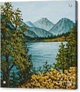 Frenchmans Lake Acrylic Print