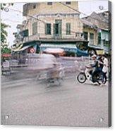 Frenetic Hanoi Acrylic Print