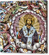 Fresco From Rila Monastery  Acrylic Print
