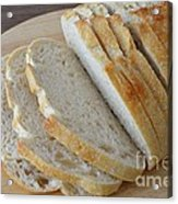 Fresh Baked Sourdough Acrylic Print by Mary Deal