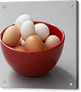 Fresh Farm Eggs Acrylic Print