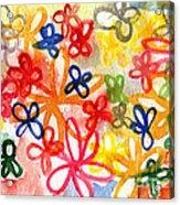 Fresh Flowers Acrylic Print