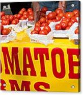 Cedar Park Texas Fresh Tomatoes Acrylic Print