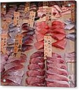 Fresh From Tsukiji Acrylic Print by David Bearden