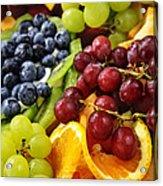 Fresh Fruits Acrylic Print by Elena Elisseeva