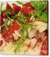 Fresh Garden Salad - Tomato Acrylic Print
