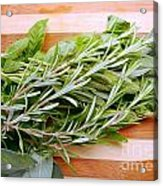 Fresh Herbs Acrylic Print