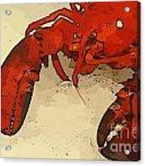Fresh Lobster Acrylic Print